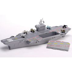 Deluxe Aircraft Carrier Play Set Was $38.99 Now $29.99