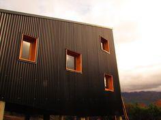 estudioforma - Arquitectura - Diseño y Construcción en madera - Chapa Negra
