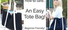 Sew an Easy Basic Tote Bag – Free Tutorial from Melanie Ham