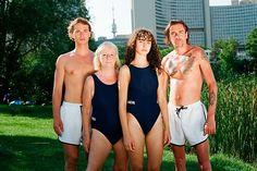 Wir brauchen diesen Wiener Linien-Badeanzug! mobile Swimwear, Swimsuit, One Piece Swimsuits, Bathing Suits, Swimsuits, Costumes
