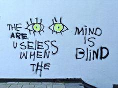 aesthetic, alternative, art, blind, emo, eyes, green, grunge ...