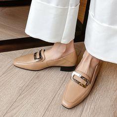 Chiko Kymberlyn Pointed Toe Block Heels Clogs/Mules Pointed Toe Block Heel, Block Heel Loafers, Heeled Loafers, Loafer Shoes, Block Heels, Women's Loafers, Embellished Shoes, Loafers For Women, Olinda
