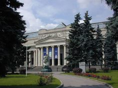The Pushkin Museum of Fine Arts is the largest museum of European art in Moscow, located in Volkhonka street, just opposite the Cathedral of Christ the Saviour.