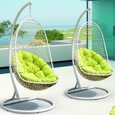 Rattan Outdoor Patio Swing Chair   Overstock.com
