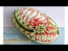 watermelon art painting for kids / watermelon art painting . watermelon art painting for kids . Watermelon Art, Watermelon Carving, Carved Watermelon, Food Art Painting, Amazing Food Art, Riced Veggies, Food Art For Kids, Fruit And Vegetable Carving, Food Carving