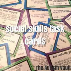 Use my social skills task card to teach about expected and unexpected behavior, how our behavior can make others feel, and differentiate how big a problem. Great for independent work, social skills lessons, and daily practice.