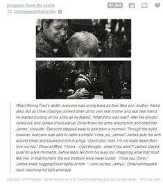 """And of course, this story of the Phelps twins filming Fred's death scene. 
