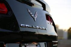 Callaway Corvette rear emblem