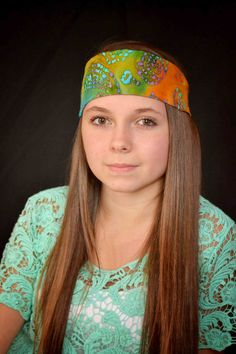 Bohemian Headband Music Festival Head Wrap by TopKnotAccessories, $21.99