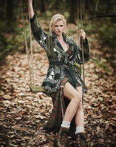 Smile: Lara Stone in The Edit Magazine Dec 22nd, 2016 by Boo George