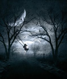 Swing When You're Lonely by Mr-Ripley - Dark / Gothic Art