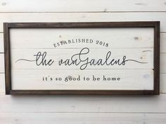Personalized Wedding Gift Custom Established Family Sign Wood Distressed Sign Unique Gift for Her Farmhouse Decor Personalized Gift Family Wood Signs, Family Name Signs, Wooden Signs, Last Name Signs, Custom Wedding Gifts, Personalized Wedding Gifts, Personalized Signs, Wedding Unique, Established Family Signs