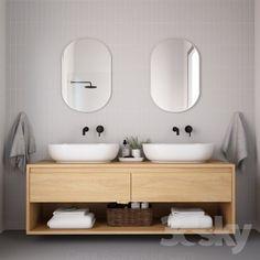 Bathroom - Bathroom Furniture I Bathroom furniture 15 White Bathroom Tiles, Small Bathroom, Master Bathroom, Bathroom Ideas, Bathroom Organization, Bathroom Renovations, Organization Ideas, Bad Inspiration, Bathroom Inspiration