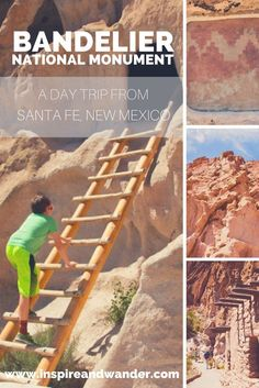 Bandelier National Monument, a Day Trip from Sante Fe, New Mexico