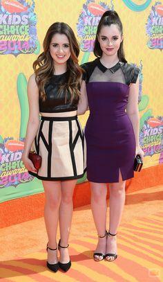 Laura Marano ✾ and Vanessa Marano ✾ 2014 Nickelodeon Kids' Choice Awards