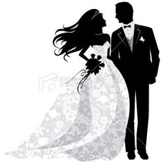 9 best bride and groom silhouettes images bride groom silhouette rh pinterest com