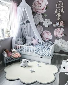 We have just one Cam Cam Harlequin Dolls Bed left in grey! These stunning pieces never last long so jump to it if you want it! Cloud Mobiles are also due to arrive today, wooooop! Pre orders will be shipped tomorrow 👏🏼 Stunning space Baby Bedroom, Baby Room Decor, Nursery Room, Girls Bedroom, Bedroom Decor, Girl Nursery, Nursery Ideas, Toddler Rooms, Toddler Bed