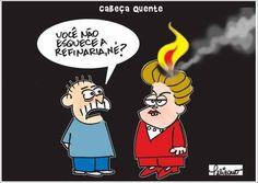 Dilma com a cabeça quente...