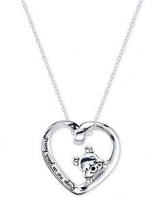 Timesuper Silver Plated Rose Flower Modeling Heart Shaped Photo Locket Pendant Necklace Women Jewelry