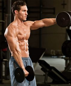 Shoulder Exercises - Build Muscle Workout - Muscle and Fitness
