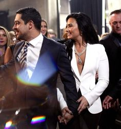 Demi and Wilmer at the Grammy Awards - February 15th