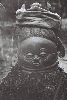 Bundu (or Sewai) mask. Traditionally worn by a girl in a secret ceremony welcoming her transition to womanhood.