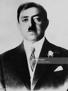 King Amanullah (1892 - 1960) of Afghanistan, circa 1928.