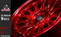 #VIPModular #Wheels - VRC 110 #Red http://thewheelandtire.com/index.php/wheels/wheels-by-brand
