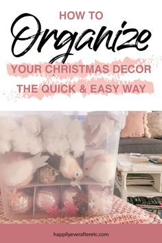 How to Organize your Christmas Decor the Quick and Easy Way #pinkchristmas #christmasdecorations #christmascloset Pink Christmas, All Things Christmas, Christmas Home, Christmas Ideas, Merry Christmas, Christmas Decorations, Make A Closet, Best Christmas Recipes