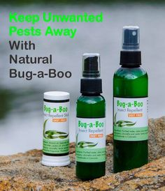 Lemongrass Spa - BugABoo. Bye-bye bugs without the toxic chemicals!