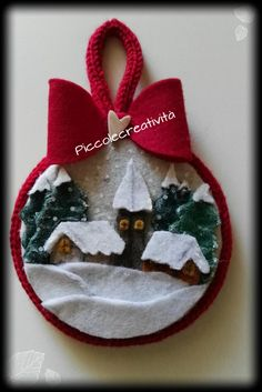 No Sew Felt Crafts - Expert Interview. Felt Christmas Decorations, Christmas Ornaments To Make, Christmas Sewing, Handmade Christmas, Christmas Crafts, Fleece Crafts, Felt Crafts, Handmade Ornaments, Felt Ornaments