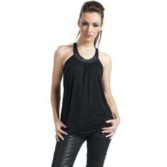 Top Mujer con #Tachuelas #studs #negro #rockfashion $24.99 en #empspain