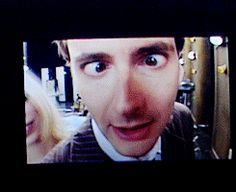I cannot handle the level of David Tennant adorableness going on in this .gif! :D