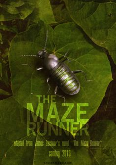 """The Maze Runner Trilogy"" by James Dashner  [Fan Made Poster]  You have to read the book to understand ""Wicked... is good"""