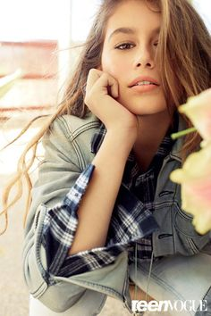 Conveying emotion and life through small facial expressions provides a deeper picture than relying solely on beautiful features to do the work. http://www.ukmodels.co.uk/knowledge/teen-modelling-tips-kaia-gerber/
