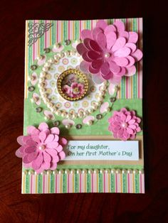 Mother's Day Card for first Mother's Day