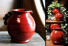 Tuscan Decor Cardinale Pitcher Vase