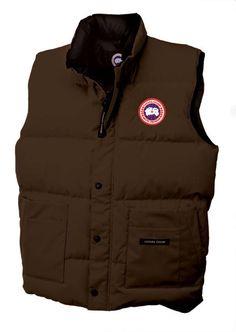Canada Goose' Freestyle Vest Coffee Men