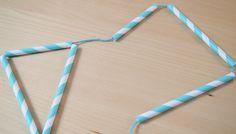 Papiergoed rietjes slinger-stap 4