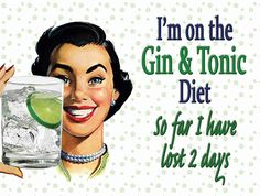 Best diet. Actually, I'll take a Vodka tonic!