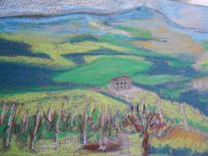 Tuscan landscape  Radicofani