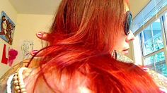 How To HENNA Your Hair Blazing Red