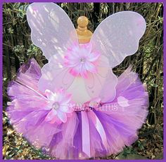 3pc Party Fairy Tutu Set, Birthday Gift, Theme Party,Photo Prop, Party Favor, Dress Up  Size 1yr thru 3-4yrs on Etsy, $24.99