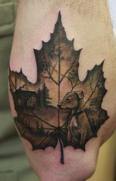 Maple Leaf Memories Tattoo