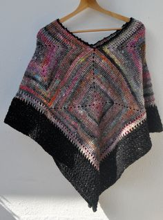 Exclusive poncho by SophieCRO on Etsy