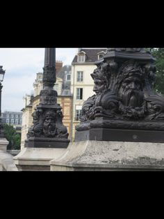 Lamp posts Architecture France