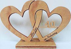 Hochzeitsherz, Jubileum mit Lasergravur Wedding heart, Jubileum with laser engraving Wood Projects, Woodworking Projects, Projects To Try, Wood Crafts, Diy And Crafts, Arts And Crafts, Scroll Saw Patterns, Wood Creations, Wood Cutting