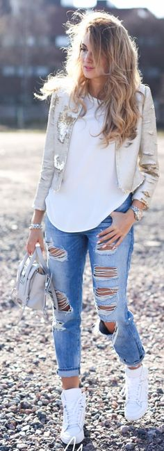Casual Spring Outfit Idea by Mungolife