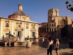 Valencia -Plaza de la Virgen