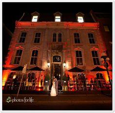 restaurant Eighteen for our wedding
